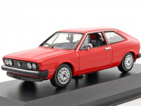 Volkswagen VW Scirocco year 1974 red 1:43 Minichamps