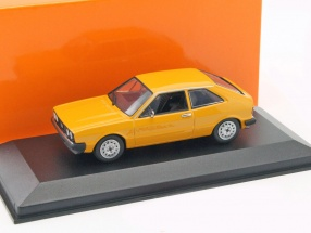 Volkswagen VW Scirocco year 1974 yellow 1:43 Minichamps