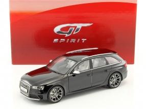 Audi RS4 B8 Baujahr 2016 schwarz 1:18 GT-SPIRIT