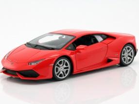 Lamborghini Huracan LP610-4 red 1:18 Bburago