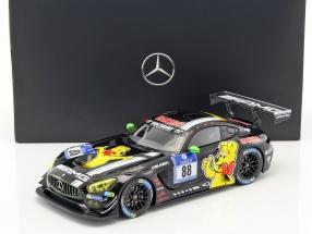 Mercedes-Benz AMG GT3 #88 3rd 24h Nürburgring 2016 Alzen, Arnold, Götz, Seyffarth 1:18 Norev
