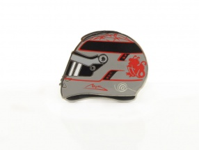 Michael Schumacher Helm Pin 300th GP Spa GP Formel 1 2012 platin