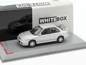Mitsubishi Lancer Evolution I RHD year 1992 silver 1:43 WhiteBox