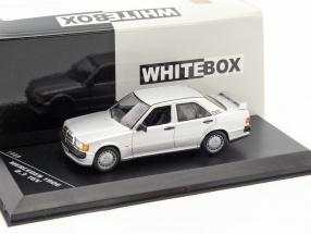 Mercedes-Benz 190E 2.3 16V Baujahr 1988 silber 1:43 WhiteBox