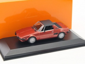 Fiat X1/9 year 1974 red 1:43 Minichamps