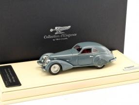 Alfa Romeo 8C 2900B Lungo Carrozzeria Touring Superleggera Baujahr 1937 grau 1:43 TrueScale