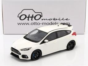 Ford Focus RS Baujahr 2016 weiß 1:18 OttOmobile