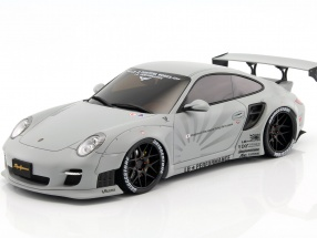 Porsche 911 (997) LB Performance year 2010 mat light gray 1:18 GT-SPIRIT