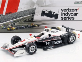 Helio Castroneves Chevrolet #3 IndyCar Series 2017 1:18 Greenlight