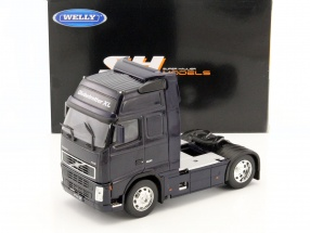 Volvo FH12 Globetrotter XL dark blue 1:32 Welly