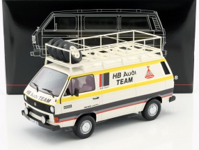Volkswagen VW T3 Kastenwagen HB Audi Team weiß / gelb 1:18 PremiumClassiXXs