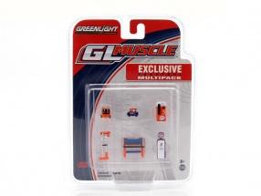 Shop Tools Gulf 1:64 Greenlight