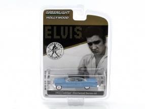 Cadillac Fleetwood Series 60 Elvis Presley year 1955 blue 1:64 Greenlight