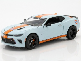 Chevrolet Camaro SS Baujahr 2017 Gulf Version 1:24 Greenlight