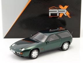 Porsche 928 S Kombi by ARTZ year 1979 green metallic 1:18 Premium X