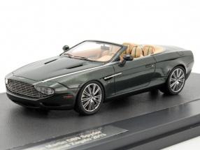 Aston Martin DB9 Spyder Continetal Zagato Baujahr 2013 dunkelgrün metallic 1:43 Matrix