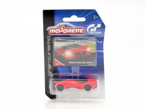 Peugeot Vision Gran Turismo rot / schwarz 1:64 Majorette