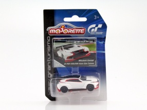 Mitsubishi Concept XR-Phev Evolution Vision Gran Turismo weiß / rot / schwarz 1:64 Majorette