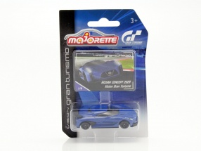 Nissan Concept Car 2020 Vision Gran Turismo blau 1:64 Majorette