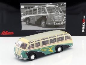 Saurer 3C-H Omnibus Bachmann year 1951 cream / green 1:43 Schuco