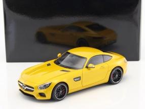 Mercedes-Benz AMG GTS Baujahr 2015 gelb 1:18 AUTOart