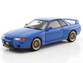 Nissan Skyline GT-R (R32) Tuned Version year 1991 blue 1:18 AUTOart