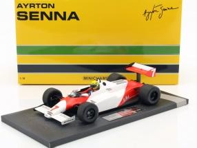 Ayrton Senna McLaren Ford MP4/1C #7 Test Silverstone GP F1 1983 1:18 Minichamps