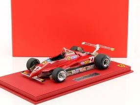 Gilles Villeneuve Ferrari 126C2 #27 USA West GP Formel 1 1982 1:18 BBR