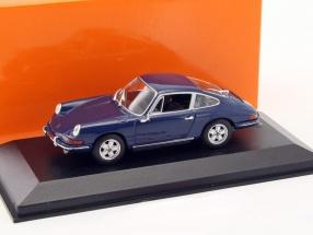 Porsche 911 Baujahr 1964 blau 1:43 Minichamps