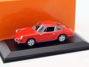 Porsche 911 Baujahr 1964 orange 1:43 Minichamps