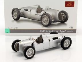 Auto Union Typ C Baujahr 1936/37 silber 1:18 CMC