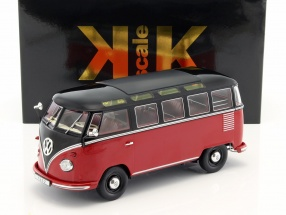 Volkswagen VW Bulli T1 Samba year 1962 red / black 1:18 KK-Scale