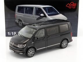 Volkswagen VW T6 Multivan Highline schwarz 1:18 NZG