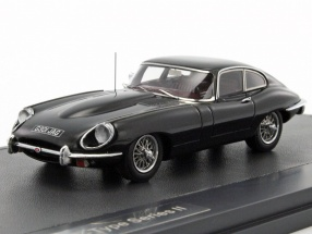 Jaguar E-Type Series II Coupe schwarz 1:43 Matrix