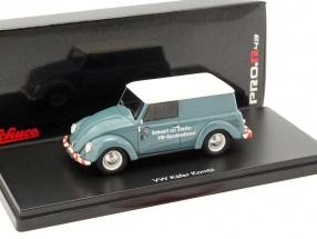 Volkswagen VW Käfer Kombi VW Kundendienst graublau 1:43 Schuco