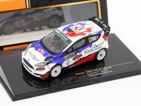 Ford Fiesta RS WRC #17 Rallye Monte Carlo 2016 Bouffier, Bellotto 1:43 Ixo