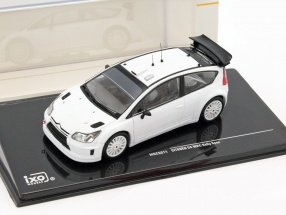 Citroen C4 WRC Rally Spec Plain Body Version White 1:43 Ixo