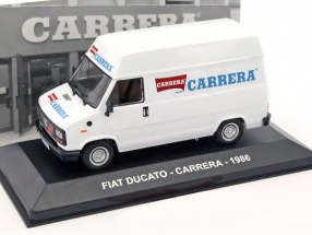Fiat Ducato Carrera Baujahr 1986 weiß 1:43 Altaya