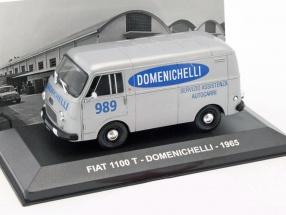 Fiat 1100 T Domenichelli Baujahr 1965 grau metallic 1:43 Altaya