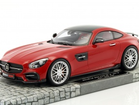 Brabus 600 For GTS year 2016 red 1:18 Minichamps