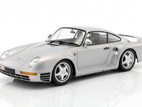 Porsche 959 Baujahr 1987 silber 1:18 Minichamps