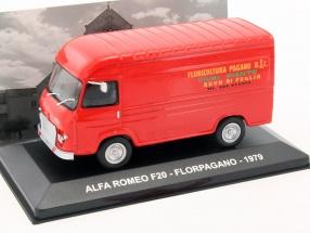 Alfa Romeo F20 Florpagano Baujahr 1979 rot 1:43 Altaya
