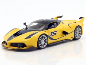 Ferrari FXX-K #15 yellow / dark blue 1:18 Bburago