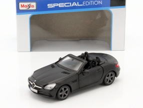 Mercedes-Benz SLK-Klasse schwarz 1:24 Maisto