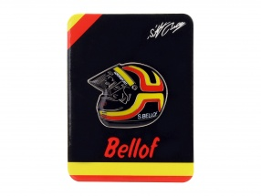 Stefan Bellof Pin helmet red / yellow / black