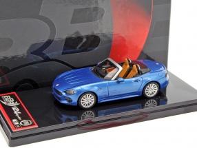 Fiat 124 Spider Convertible blau metallic 1:43 BBR