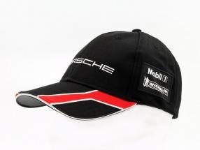 Porsche Cap Motorsport Collection schwarz / weiß / rot