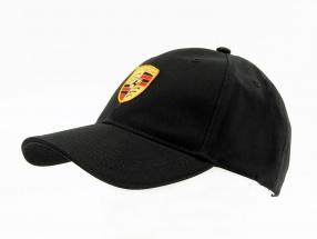 Porsche Cap Wappen schwarz