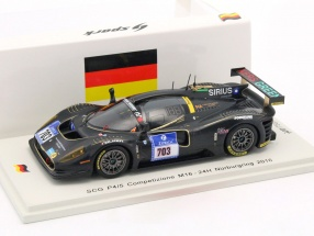 SCG P4/5 Competizione M16 #703 24h Nürburgring 2016 Scuderia Cameron Glickenhaus 1:43 Spark