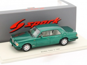 Bentley Turbo S Baujahr 1994 grün 1:43 Spark